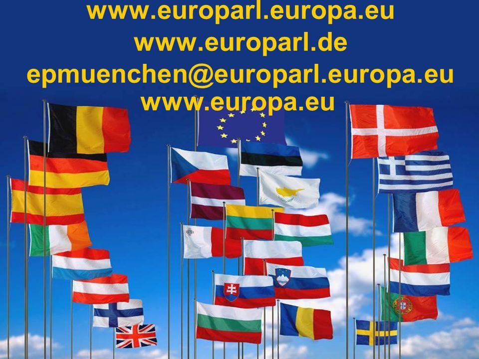 www.europarl.europa.eu www.europarl.de epmuenchen@europarl.europa.eu