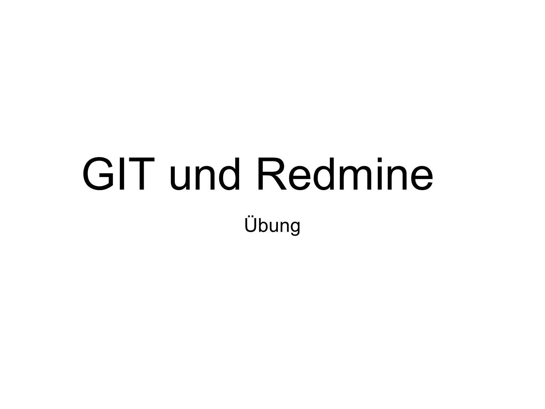 GIT und Redmine Übung