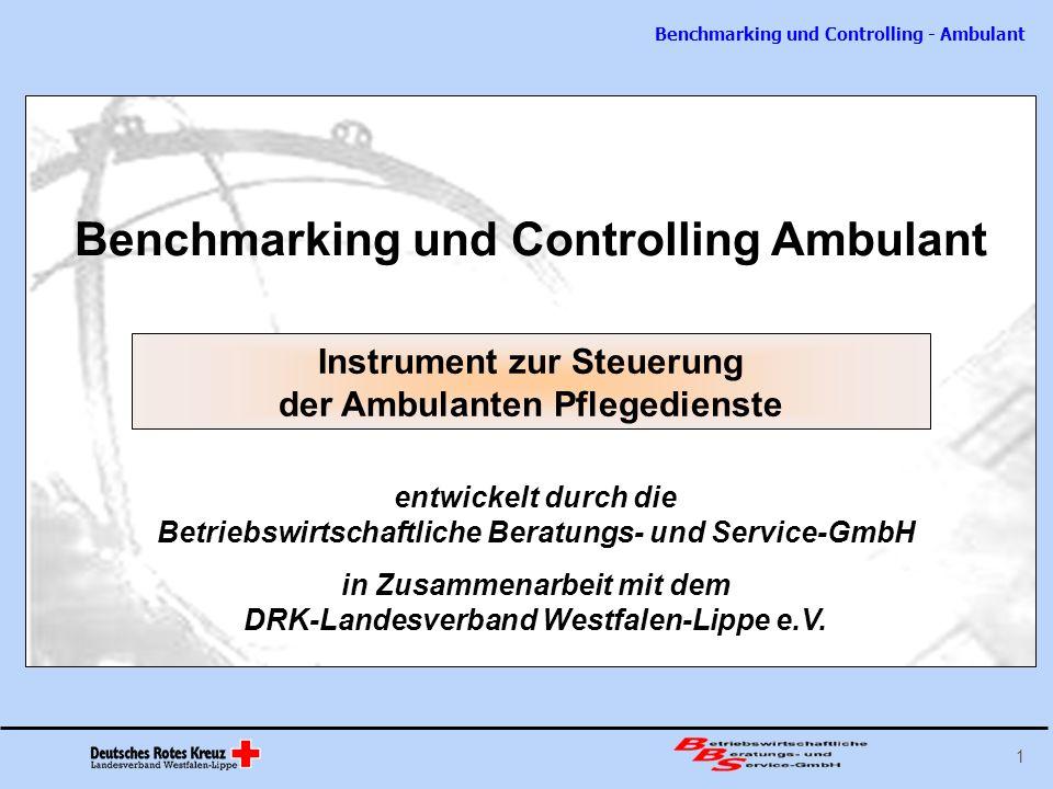 Benchmarking und Controlling Ambulant