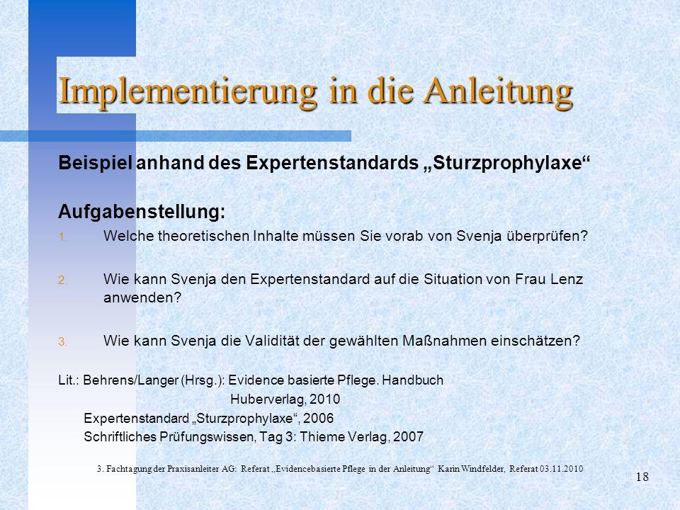 Arbeitsblätter Zu Juchli Pflege : Evidenzbasierte pflege in der anleitung ppt video online