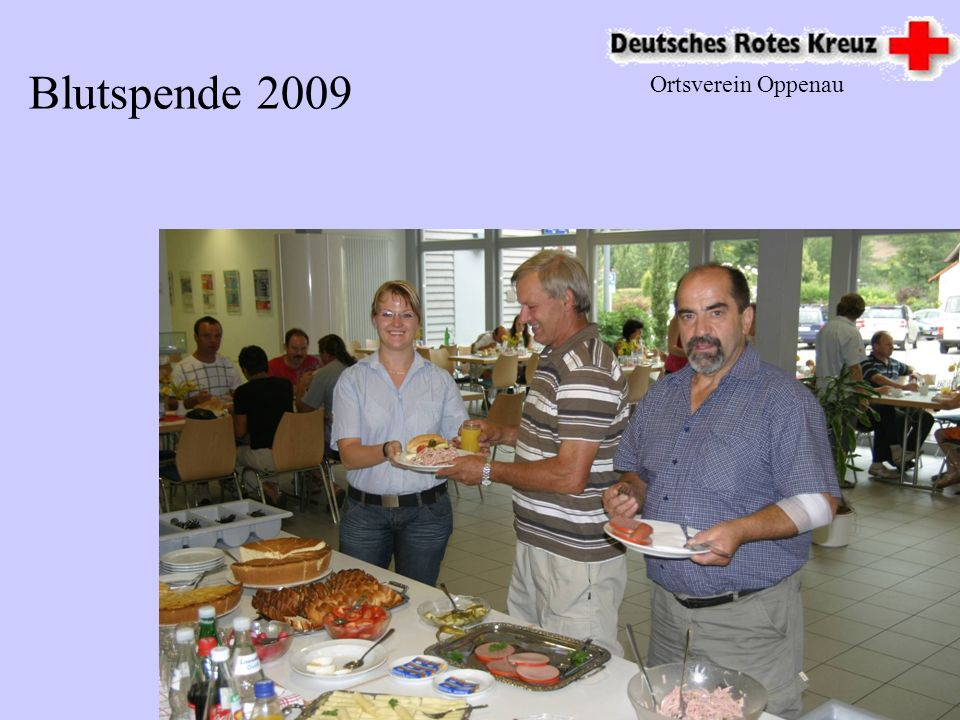 Blutspende 2009 Ortsverein Oppenau
