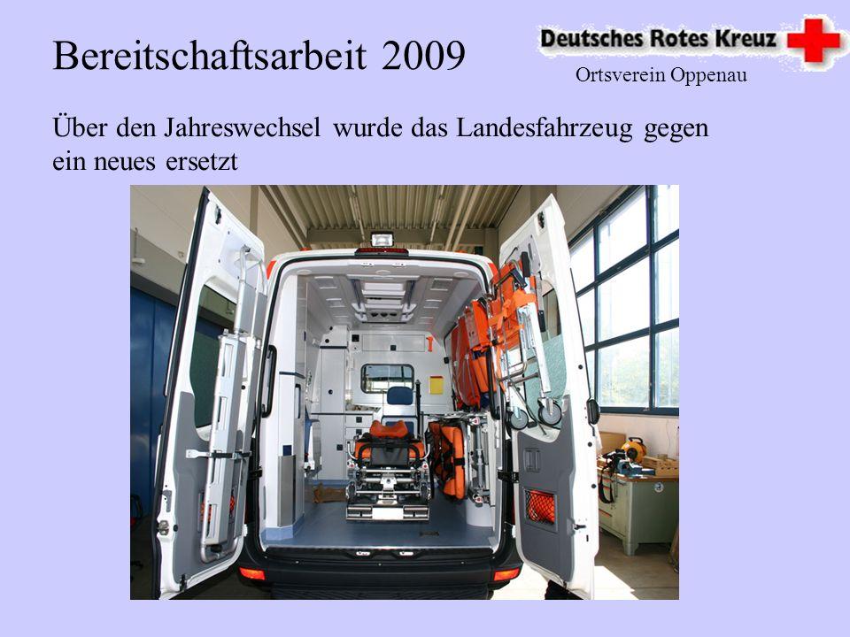 Bereitschaftsarbeit 2009 Ortsverein Oppenau.