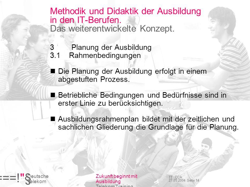 Methodik und Didaktik der Ausbildung in den IT-Berufen