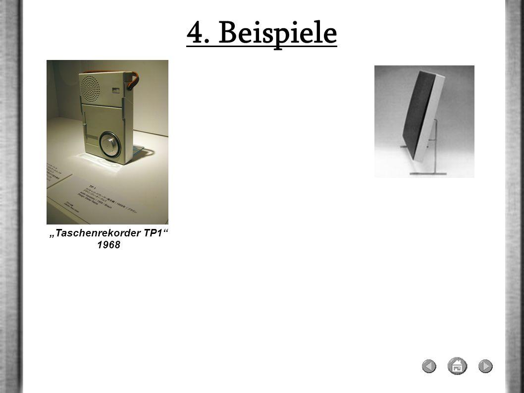 """4. Beispiele """"Taschenrekorder TP1 1968"""
