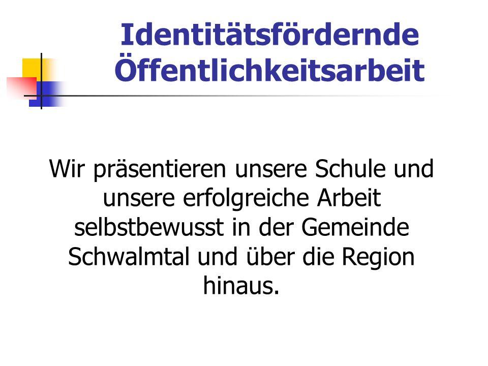 Identitätsfördernde Öffentlichkeitsarbeit