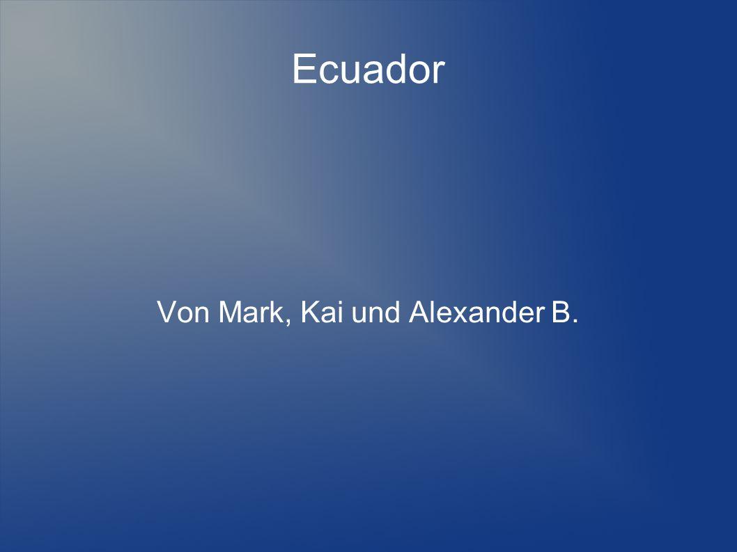 Von Mark, Kai und Alexander B.