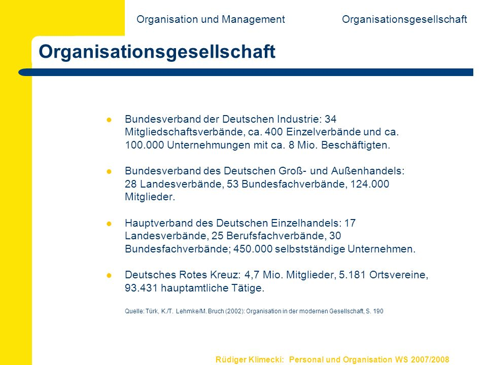 Organisationsgesellschaft