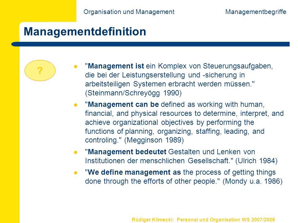 Managementdefinition