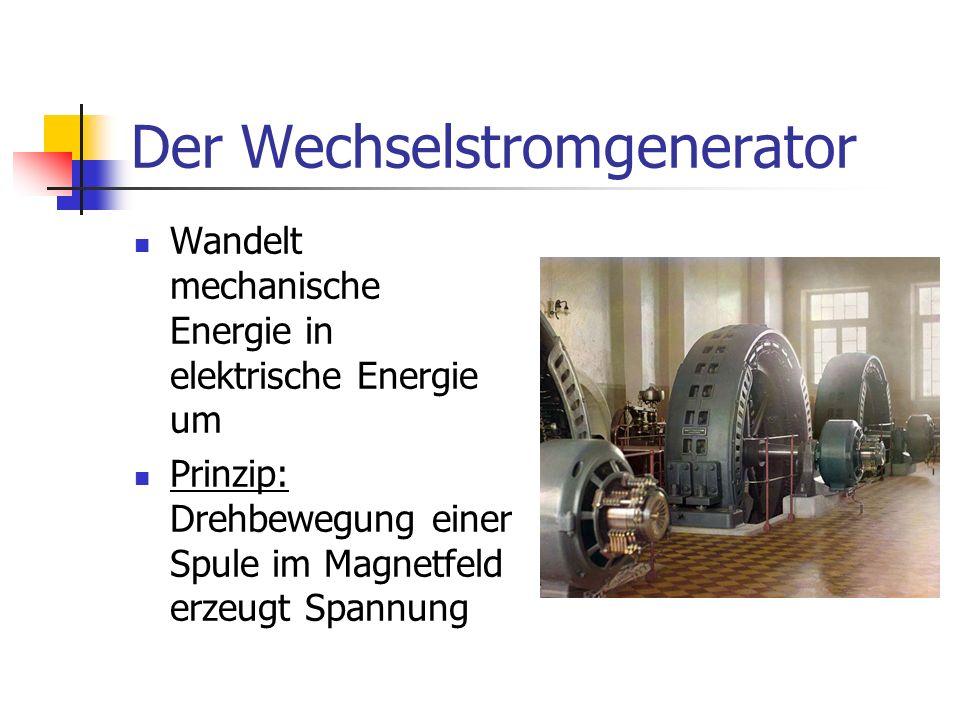 Der Wechselstromgenerator