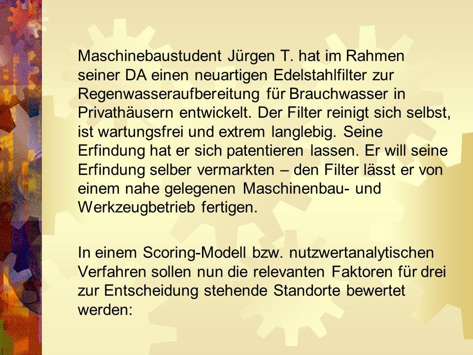 Maschinebaustudent Jürgen T