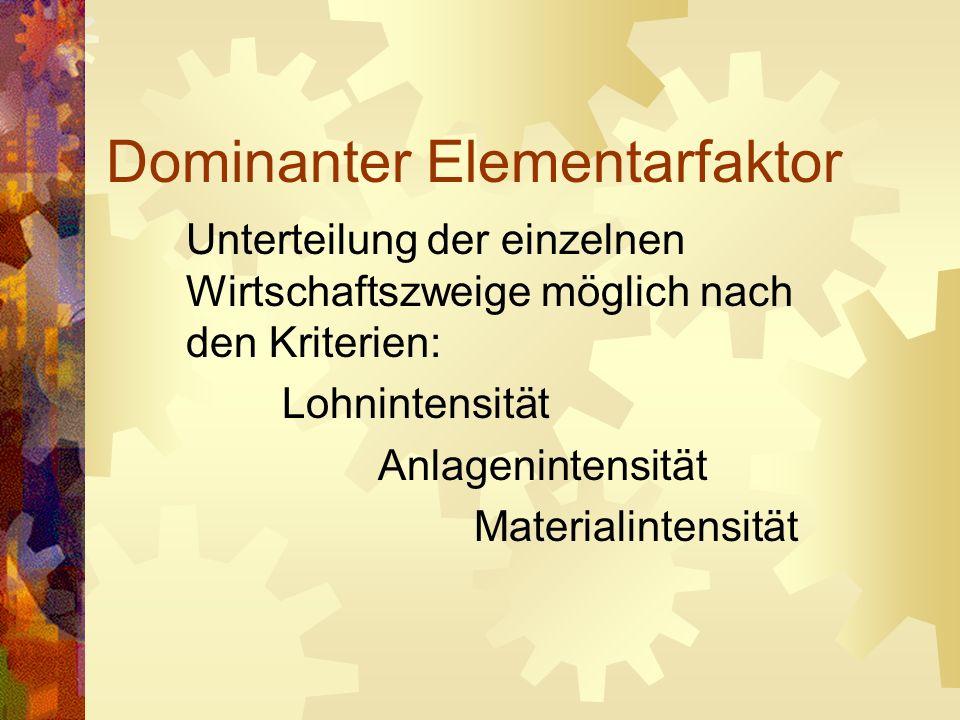 Dominanter Elementarfaktor