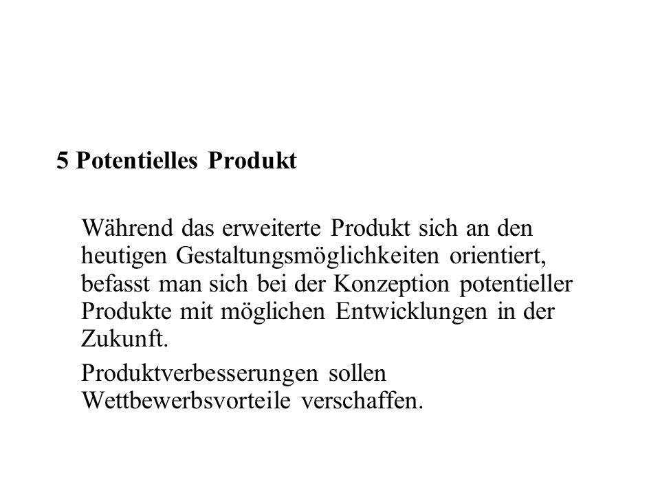 5 Potentielles Produkt