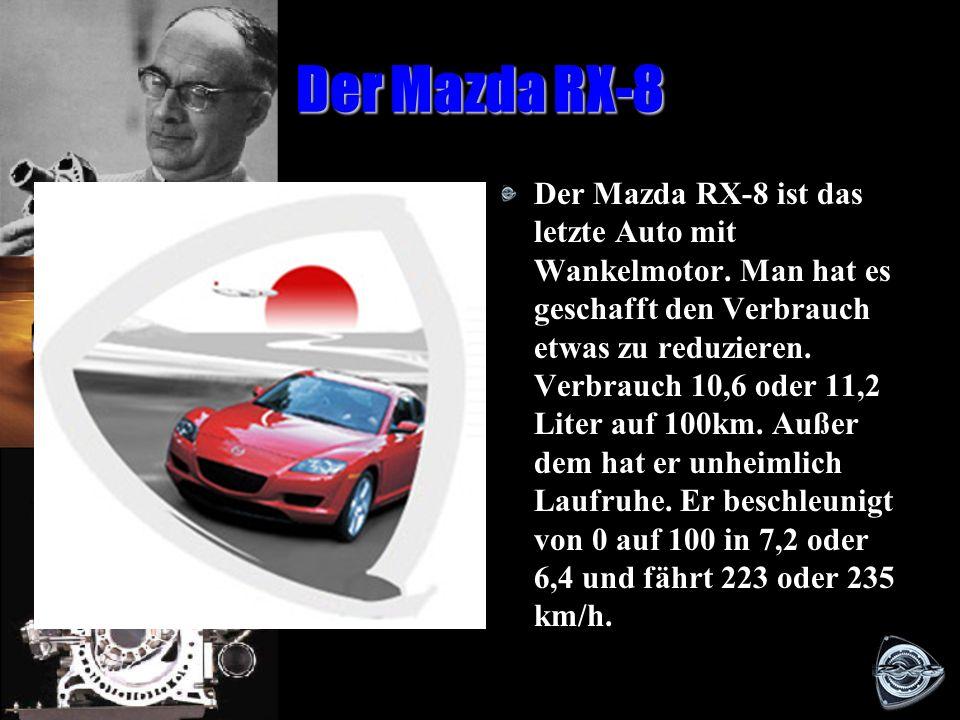 Der Mazda RX-8