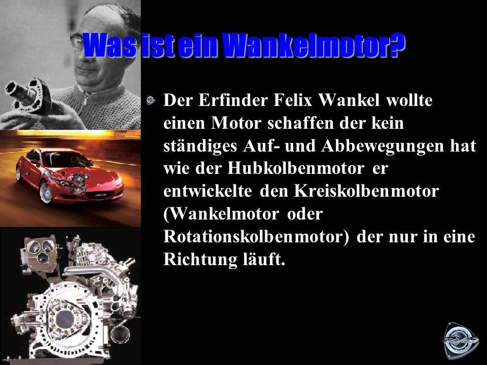 Was ist ein Wankelmotor