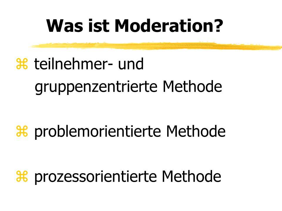 gruppenzentrierte Methode problemorientierte Methode