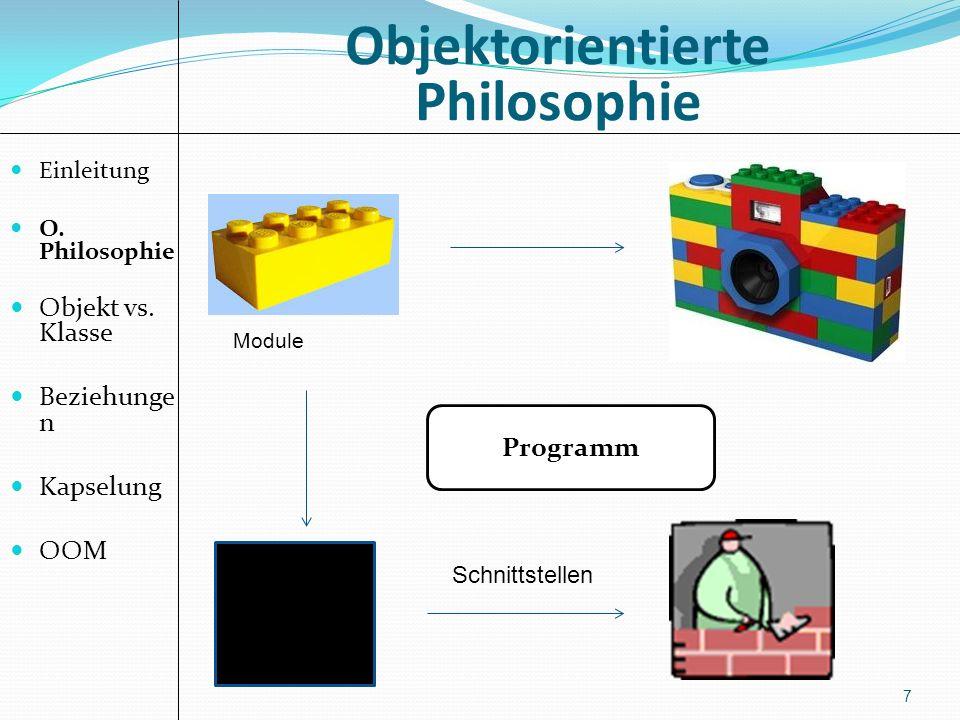 Objektorientierte Philosophie