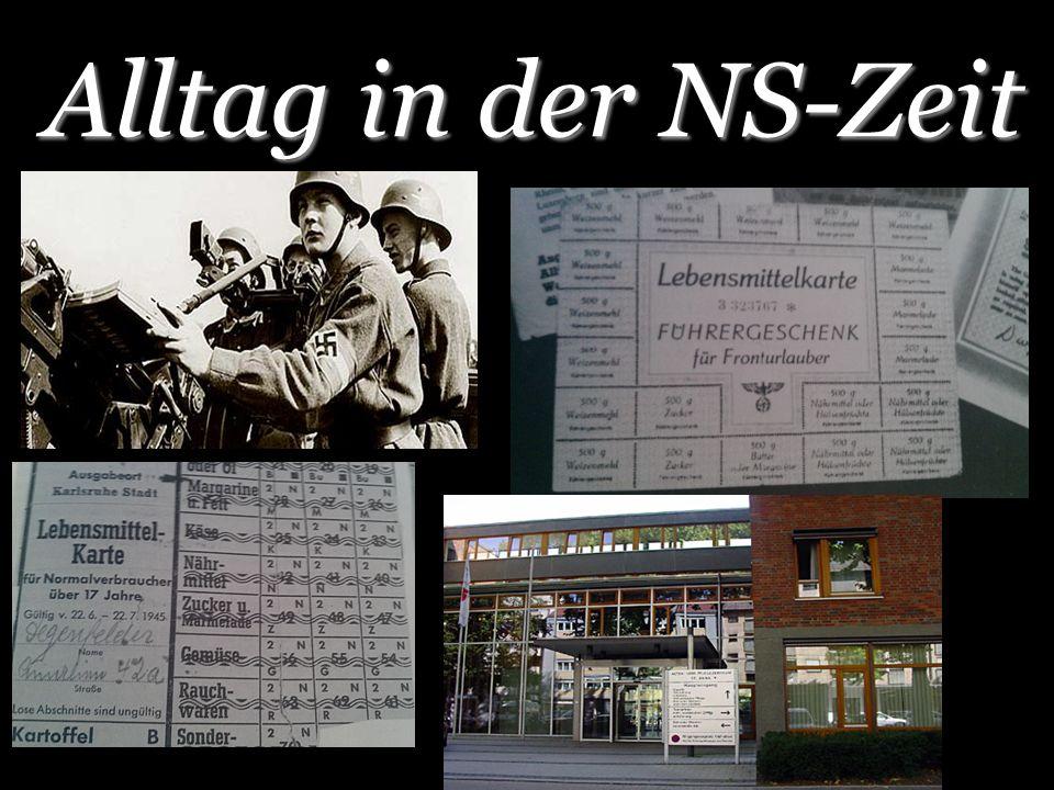 Alltag in der NS-Zeit