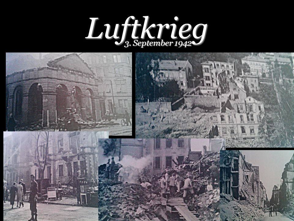 Luftkrieg 3. September 1942