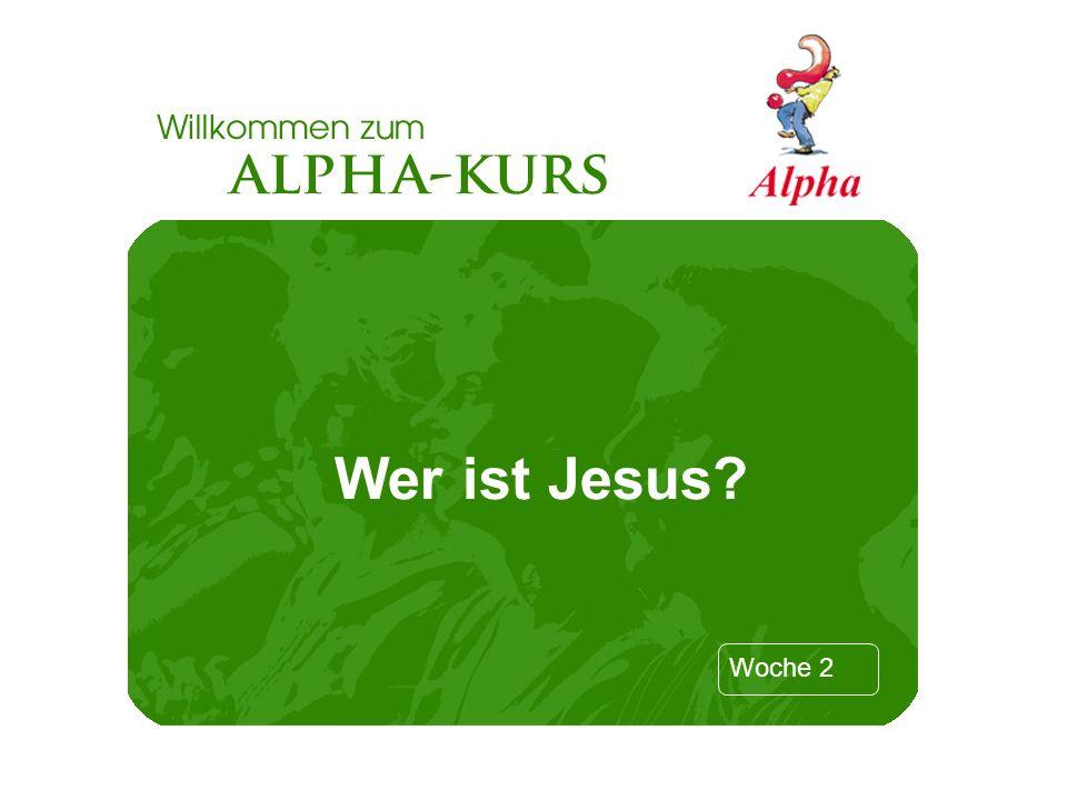 Wer ist Jesus Folie 1