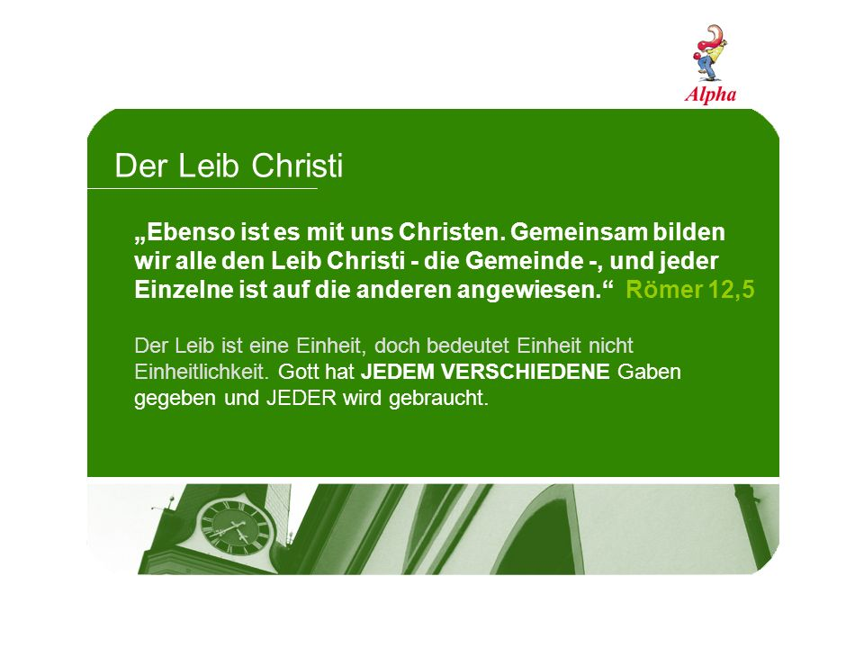 Der Leib Christi