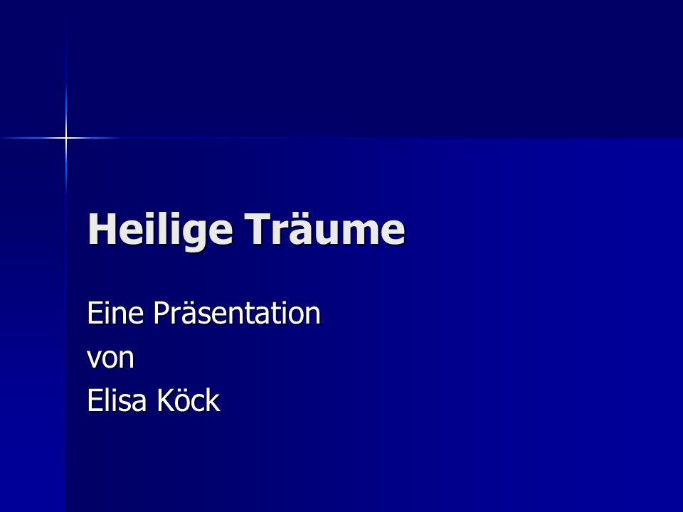 Eine Präsentation von Elisa Köck