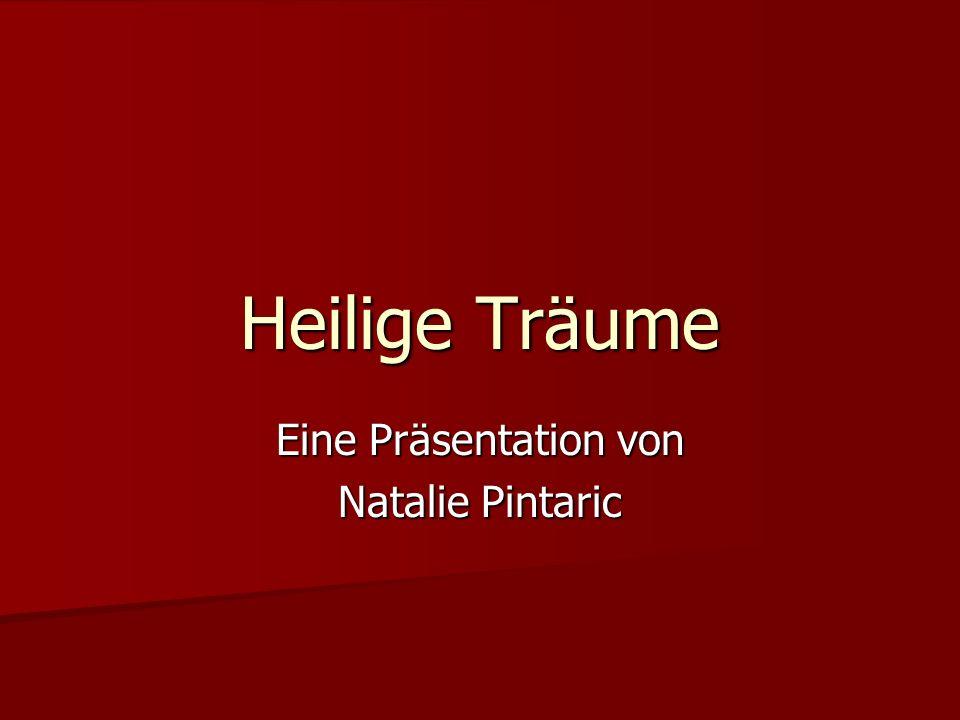 Eine Präsentation von Natalie Pintaric