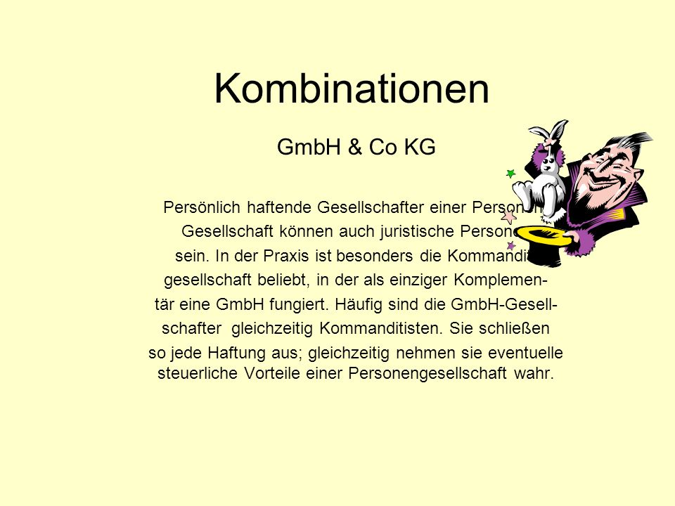 Kombinationen GmbH & Co KG