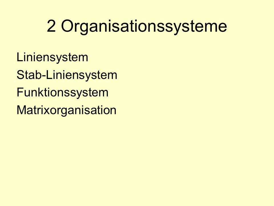2 Organisationssysteme