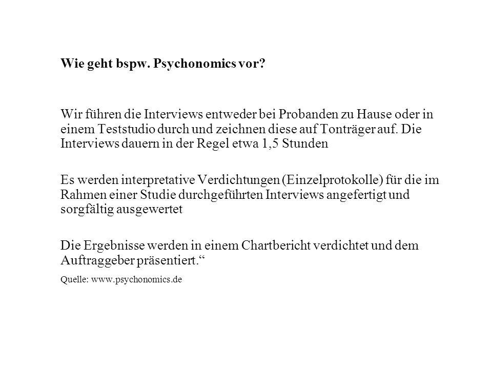 Quelle: www.psychonomics.de