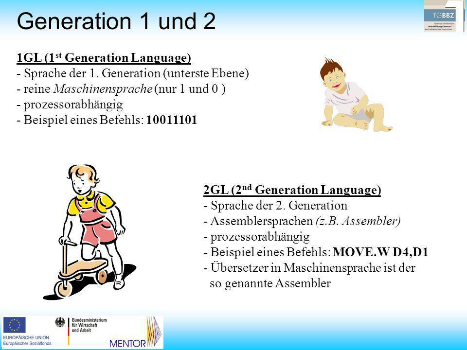 Generation 1 und 2