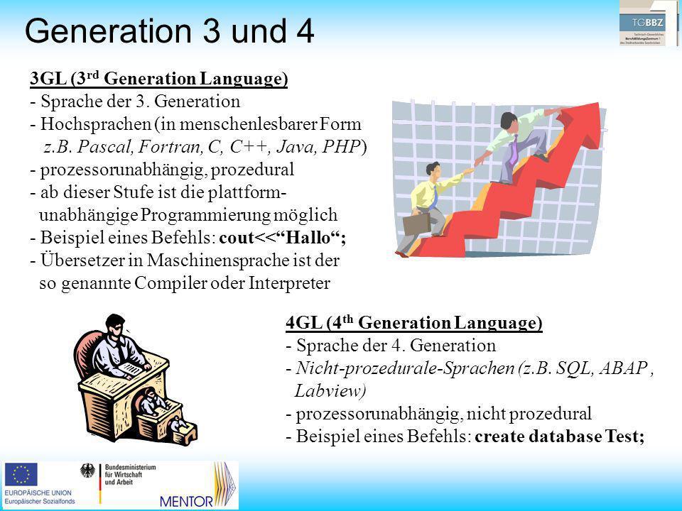 Generation 3 und 4