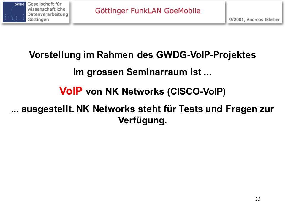 VoIP von NK Networks (CISCO-VoIP)