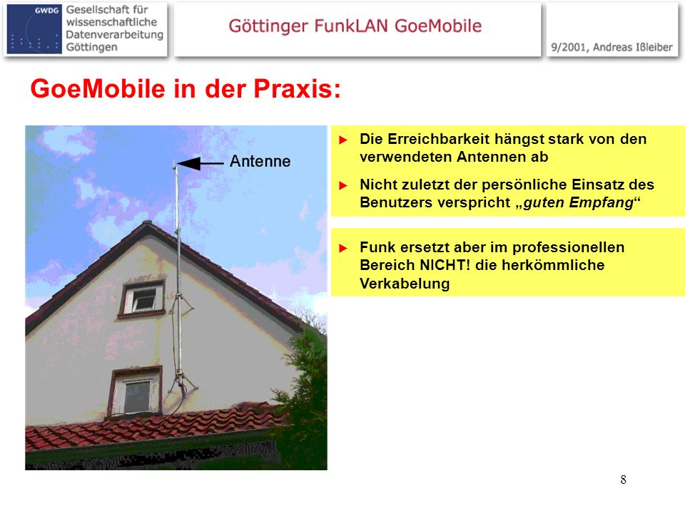 GoeMobile in der Praxis: