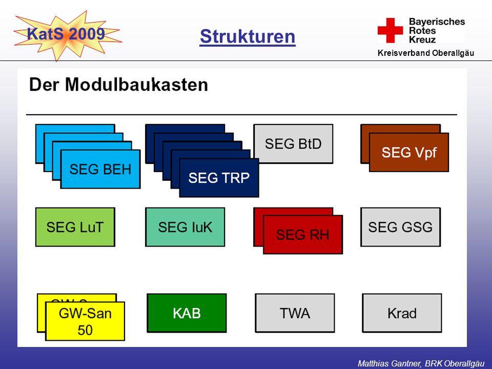 Weitere SEG-Typen Strukturen KatS 2009 Kreisverband Oberallgäu