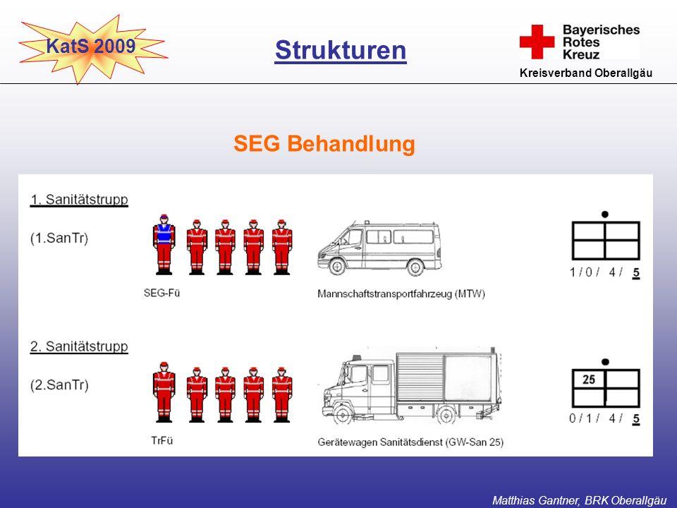 Strukturen SEG Behandlung KatS 2009 Kreisverband Oberallgäu
