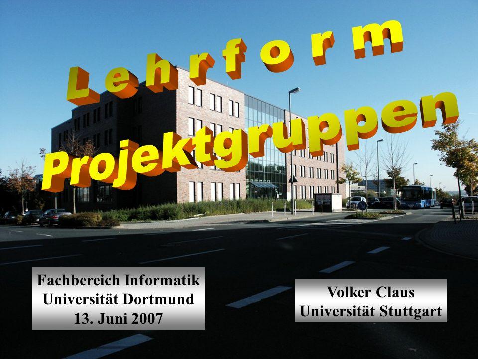 Fachbereich Informatik Universität Stuttgart