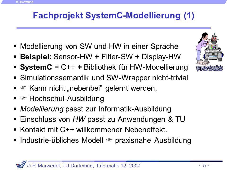 Fachprojekt SystemC-Modellierung (1)