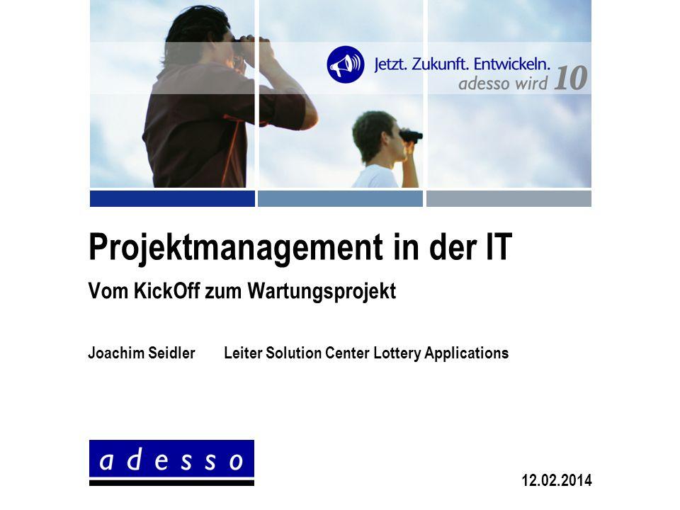 Projektmanagement in der IT