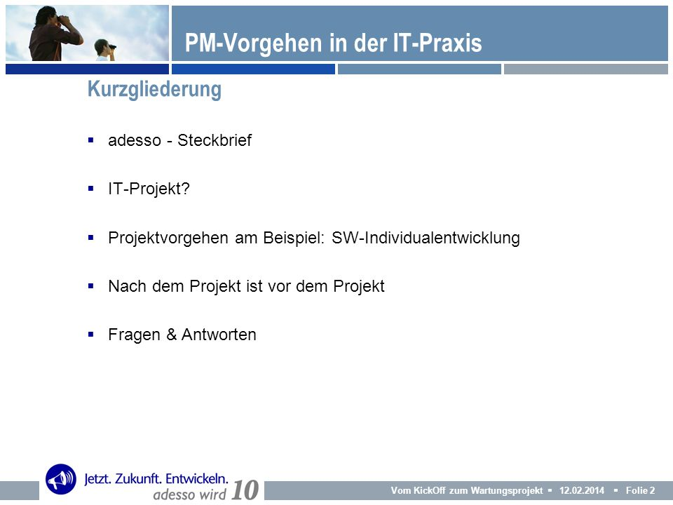 PM-Vorgehen in der IT-Praxis