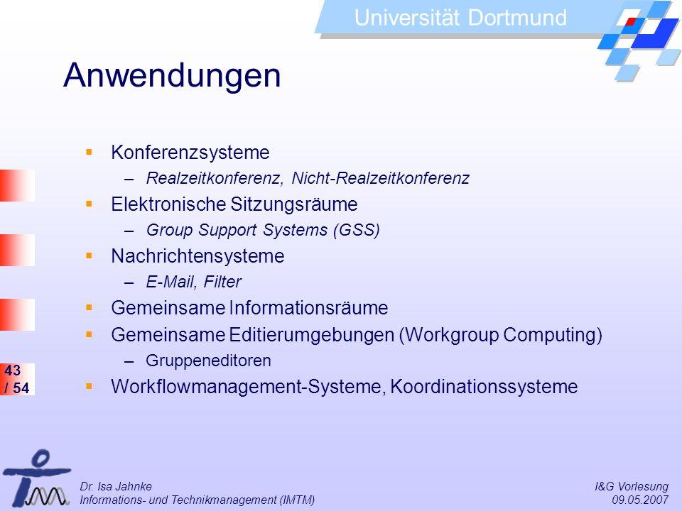 Anwendungen Konferenzsysteme Elektronische Sitzungsräume