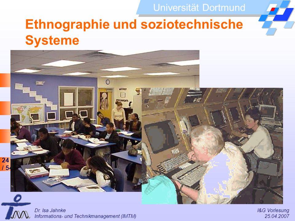 Ethnographie und soziotechnische Systeme
