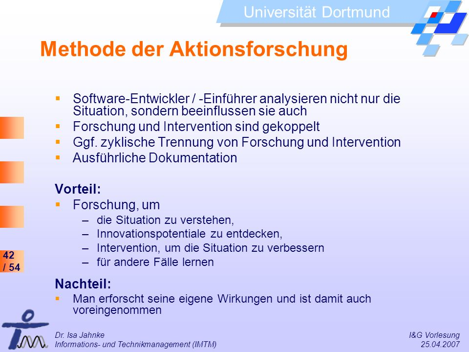 Methode der Aktionsforschung