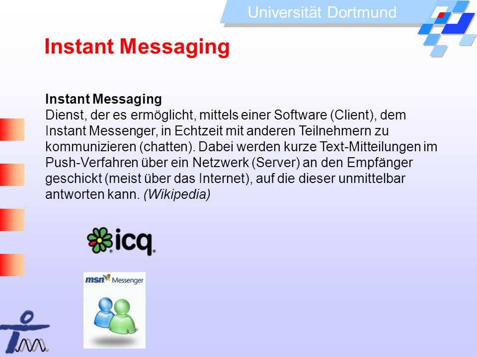 Instant Messaging Instant Messaging