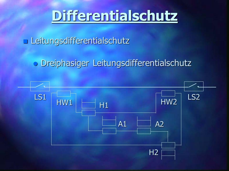 Differentialschutz Leitungsdifferentialschutz
