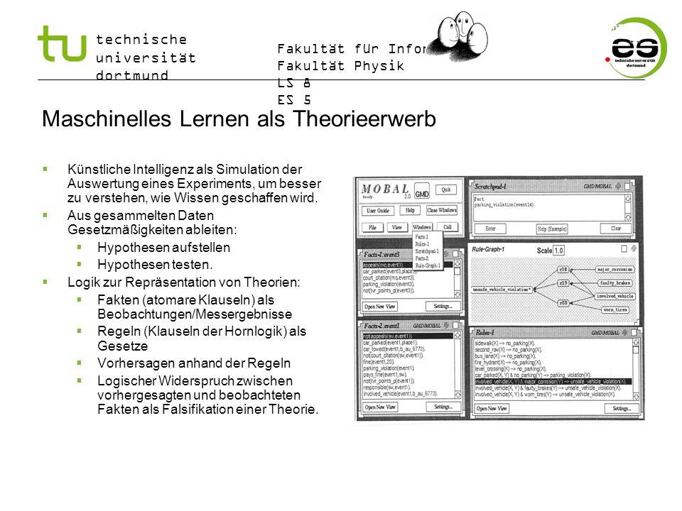 Maschinelles Lernen als Theorieerwerb