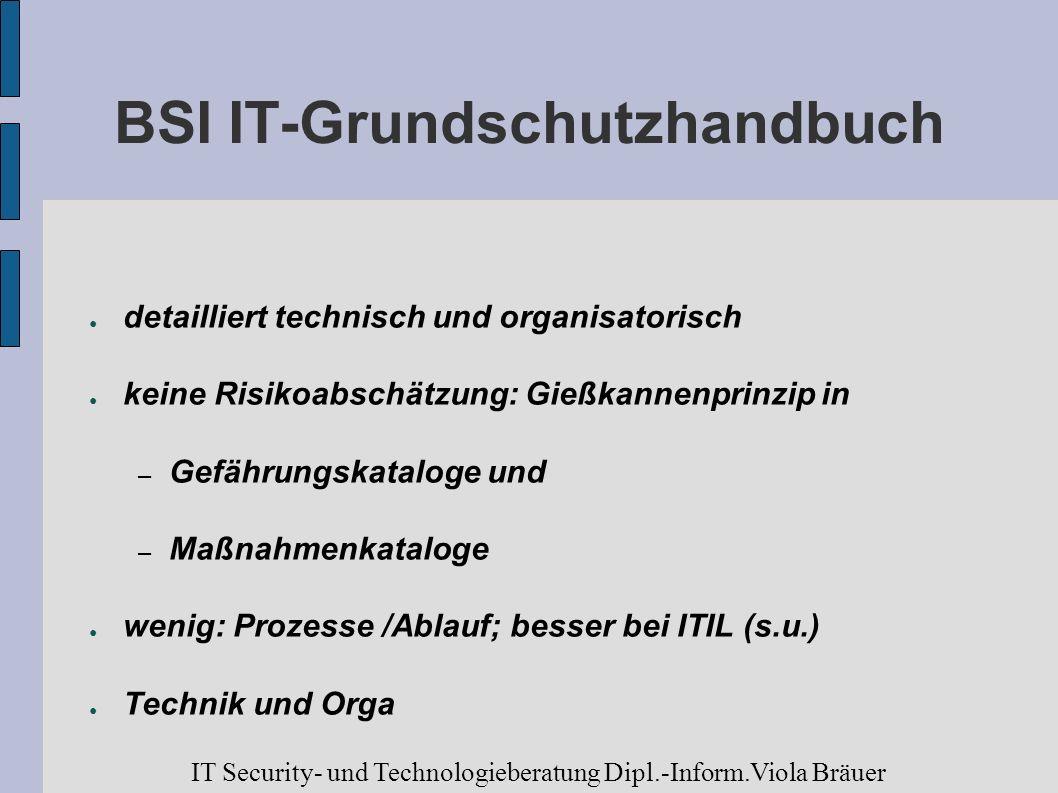 BSI IT-Grundschutzhandbuch