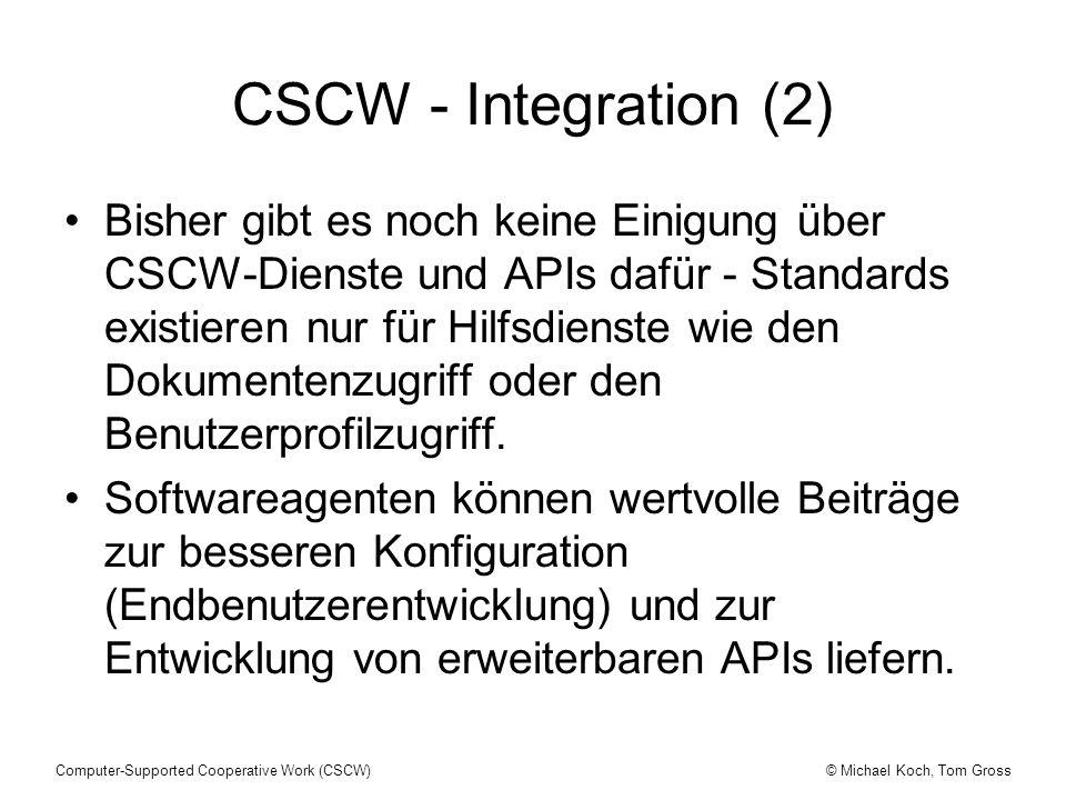 CSCW - Integration (2)