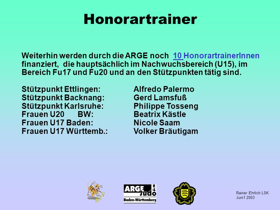 Honorartrainer