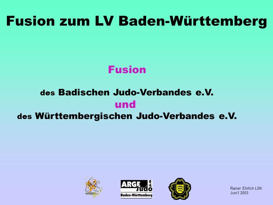 Fusion zum LV Baden-Württemberg