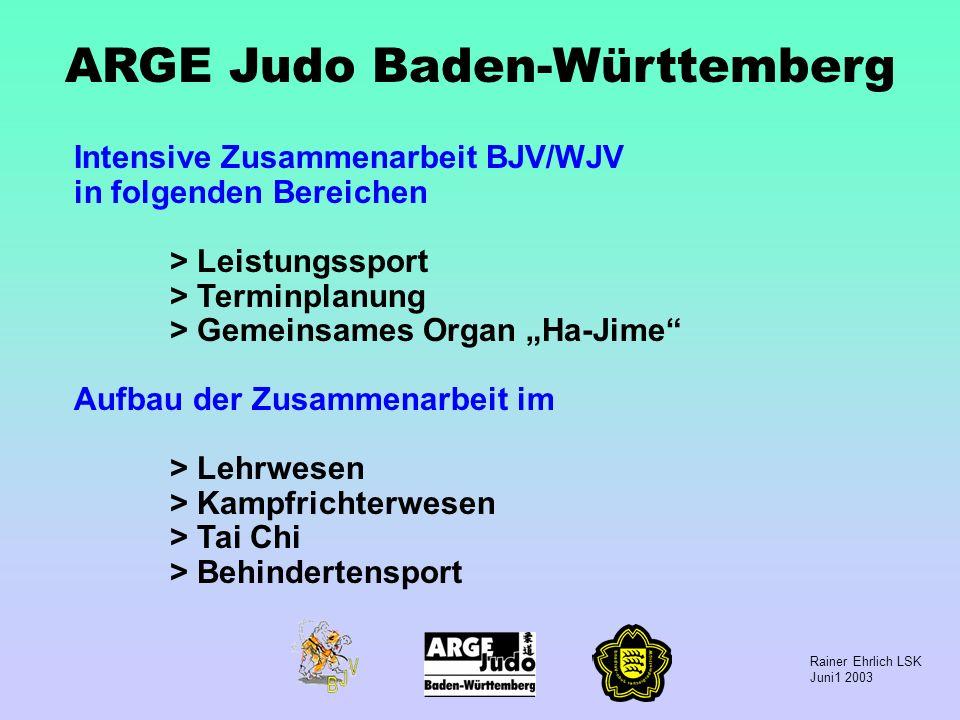 ARGE Judo Baden-Württemberg